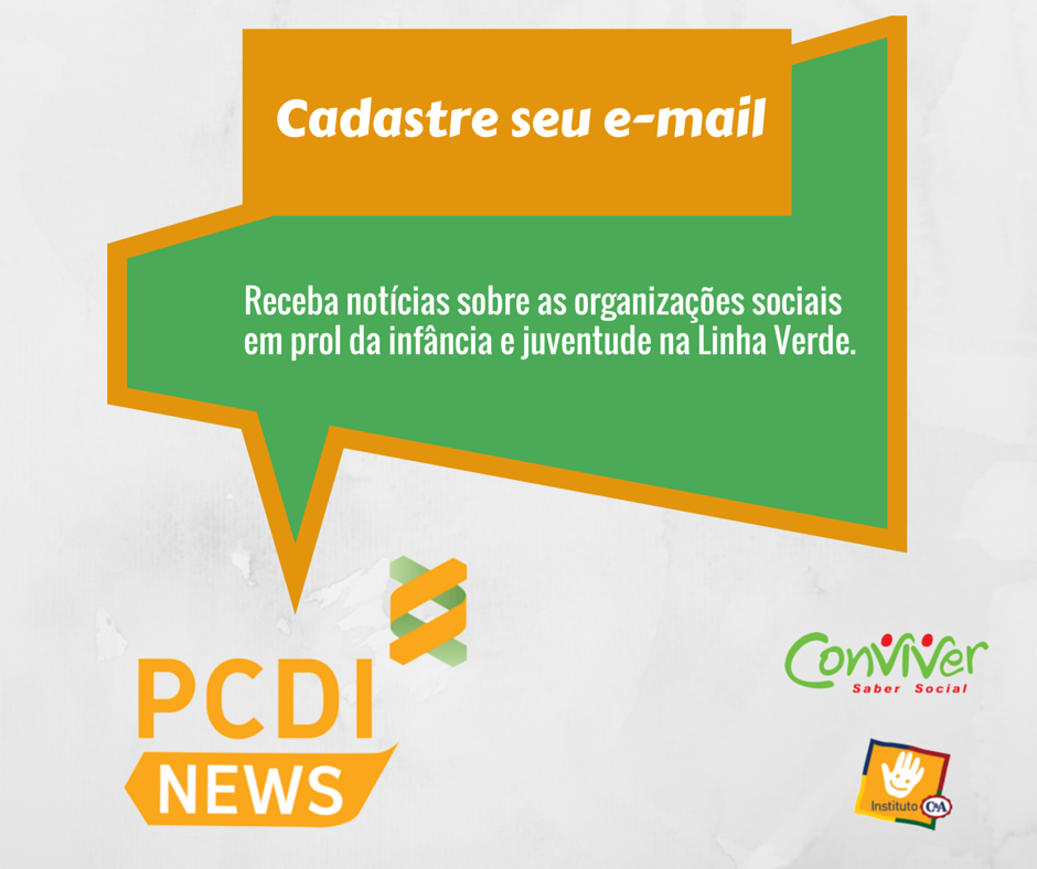 Inscreva-se no PCDI NEWS