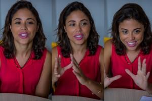 Camila é linguista e conta como seu trabalho contribui para a garantia de direitos das crianças e dos adolescentes.