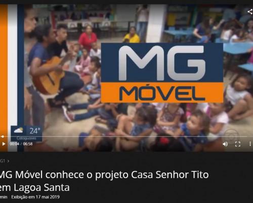 Cópia da tela de exibição do vídeo no site globo play