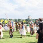 Visita em evento cultural na orla da Lagoa
